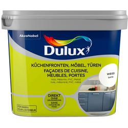 Dulux Holzlack Fresh Up, für Küchen, Möbel und Türen, weiß, 0,75 l