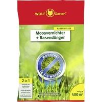 WOLF-Garten SW 400 Moosvernichter und Rasendünger 14 kg