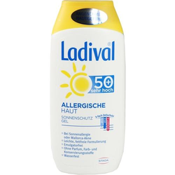 LADIVAL allergische Haut Gel LSF 50+ 200 ml