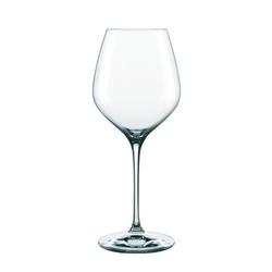 Nachtmann Gläser-Set Supreme Burgunderglas XL 4er Set, Kristallglas weiß