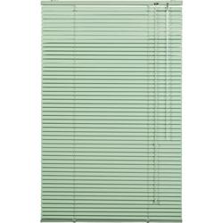 Jalousie, LICHTBLICK, freihängend, Aluminium grün 50 cm x 160 cm