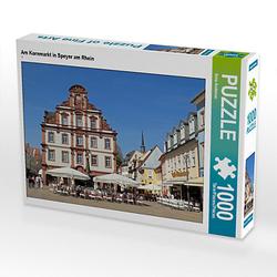 Am Kornmarkt in Speyer am Rhein Lege-Größe 64 x 48 cm Foto-Puzzle Bild von Ilona Andersen Puzzle