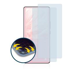 BROTECT Schutzfolie für AGPtek MH9SP, (2 Stück), Full-Cover 3D Curved klar