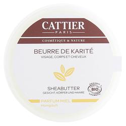 Cattier Sheabutter mit Honigduft 100 Gramm