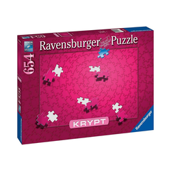 Ravensburger Puzzle Puzzle Krypt Pink, 654 Teile, Puzzleteile