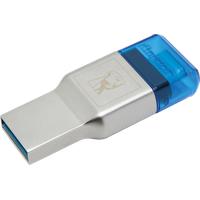 Kingston MobileLite Duo 3C Kartenleser Silber USB 3.0 (3.1 Gen 1) Type-A