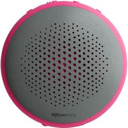 Boompods Lautsprecher wasserdichter dual Pairing Lautsprecher Fusion rosa