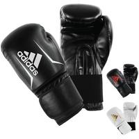 adidas Speed 50 Boxhandschuhe schwarz/weiß, 8 oz,