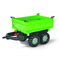 Rolly Toys Dreiseitenkipper rolly Mega Trailer grün/silber