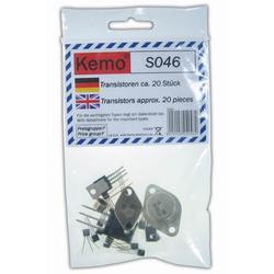 Kemo Transistoren TO3/TO92 ca. 20 Stück S046