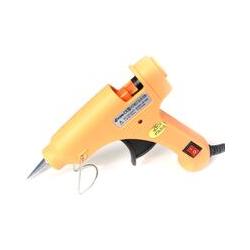 Jaune pistolet à colle thermofusible mini enfants fait à la main bricolage bijoux accessoires 20 W