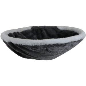 animal-design Wandmulde KUSCHELNEST Wandliege Katzenmulde Liege-mulde Plüschmulde Kletterwand, Farbe:grau/weiß