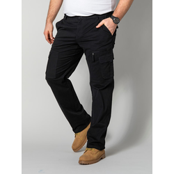 Cargohose Men Plus Schwarz