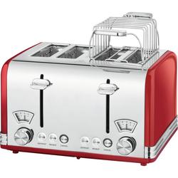 ProfiCook PC-TA 1194 Wasserkocher & Toaster - Rot