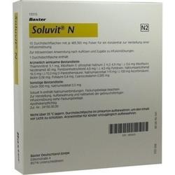 SOLUVIT N TROCKENSUBSTANZ OHNE LÖSUNGSMITTEL, 10X10 ML
