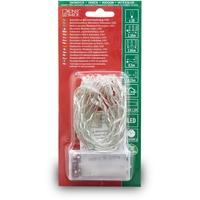 Konstsmide 1408-503 Micro-Lichterkette Innen batteriebetrieben Anzahl Leuchtmittel 20 LED