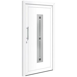 RORO Türen & Fenster Haustür Otto 4, BxH: 110x210 cm, weiß, ohne Griff