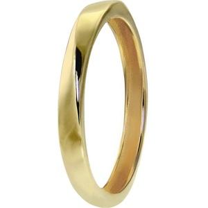 GoldDream Goldring GDR522Y56 GoldDream Gold Ring Gr.56 Twist (Ringe), Damen Ring Twist, 56 (17,8), aus Echtgold, 333er Gelbgold, Farbe: gold, weiß