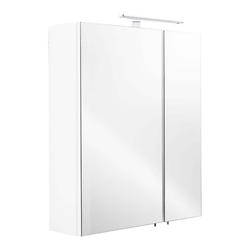 Emotion Spiegelschrank Spiegelschrank 60x68x16cm mit LED Leuchte weiß