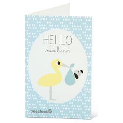 Beeztees Puppy Postkarte mit Umschlag Hello