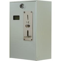 Münzautomat EMS 57 mit Münzprüfer, Spannung: 230 V - 50 Hz, Material: Stahl, Münze: 1 Euro