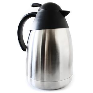 Edelstahl Isolierkanne 1,5 Liter mit Einhandautomatik