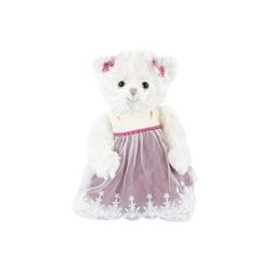 Bukowski Kuscheltier (Bukowski Teddybär Ninka pink 25 cm, Teddybär, Bär, Bär mit Kleid)