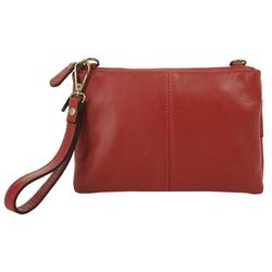 Cluty Abendtasche (1-tlg), Kreditkartenfach rot