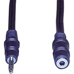Stereo-Verlaengerungskabel Klinkenst. Klinkenkup. 3,5mm