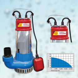 Güde Schmutzwassertauchpumpe / Schmutzwasserpumpe PRO 1100A