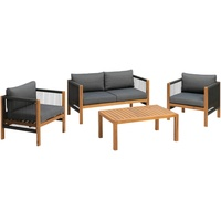 Greemotion Abaco Lounge-Set grau