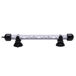 Rosnek LED Aquariumleuchte RGB LED Aquarium Mondlicht Lampe Wasserdicht Aquarium Beleuchtung Bluetooth App, LED Aquarium Lampe 28 cm
