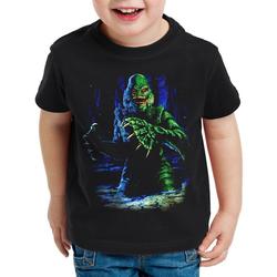 style3 Print-Shirt Kinder T-Shirt Das Ding aus dem Sumpf horrorfilm monster 104