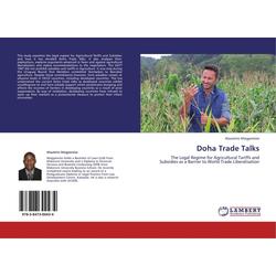 Doha Trade Talks als Buch von Alauterio Ntegyereize