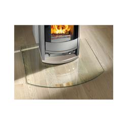 Haas+Sohn | Kamin Glasplatte, Funkenschutzplatte | Form E
