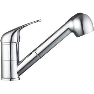 Küchenarmatur Niederdruck Armatur Küche ausziehbar Brause Spültisch Wasserhahn Spülbecken Einhebelmischer Spüle Mischbatterie
