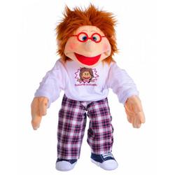 Horror-Shop Plüschfigur Peterchen Handpuppe als Therapiepuppe für Kinder u