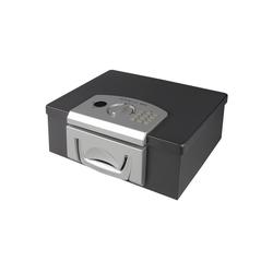 HMF Geldkassette 1006-02, Elektronikschloss, DIN A4, 32,5 x 25,5 x 12,5 cm