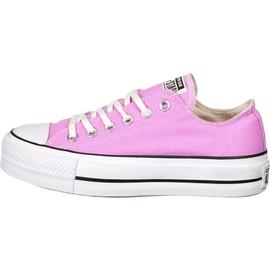 Converse Chuck Taylor All Star Platform Seasonal Low Top peony pink/white/black 40