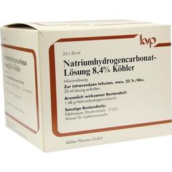 Natriumhydrogencarbonat-Lösung 8.4% Köhler