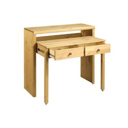 Schreibtisch oder Konsole natur ca. 88/100/38-69 cm