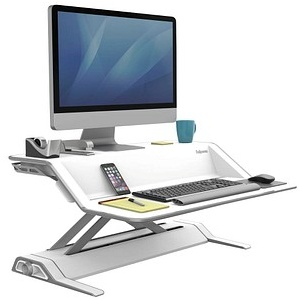 Fellowes Monitor-Ständer Lotus Sitz-Steh Workstation