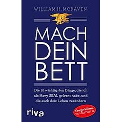 Mach dein Bett. William H. McRaven  - Buch