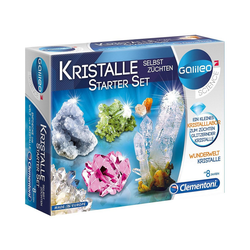 Clementoni® Lernspielzeug Galileo - Kristalle selbst züchten - Starter-Set