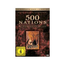 500 NATIONS - DIE GESCH. D. INDIANER-KOMPL. SERIE DVD