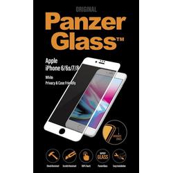 PanzerGlass Folie 2,5D PRIVACY für Apple iPhone 6/6s/7/8 weiß