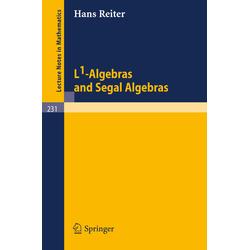 L1-Algebras and Segal Algebras als Buch von H. Reiter