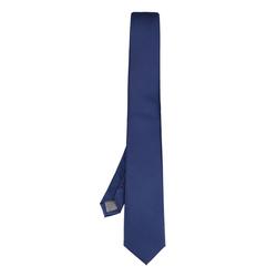 Willen Krawatte Uni 100% Seide, 220, . Blau, Gr. One_Size, Seide - Krawatte
