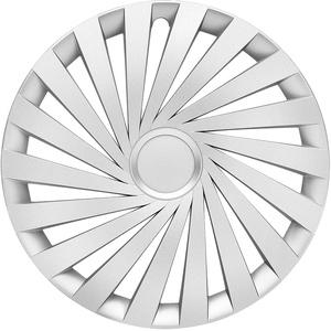 in.pro. engineering Radzierblende Empire 17 Zoll Silber Set 4 Stück