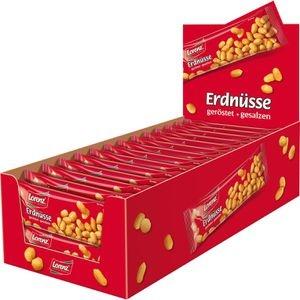 Lorenz Erdnüsse geröstet und gesalzen, 1120g, 28 Tüten